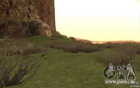 New desert pour GTA San Andreas sixième écran