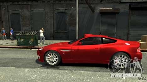 Aston Martin Vanquish S v2.0 teinté pour GTA 4 est une gauche