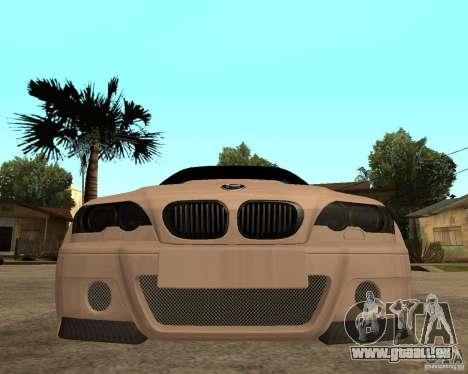 BMW M3 CSL E46 G-Power pour GTA San Andreas vue de droite