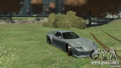 Mazda RX-7 FD3S Veilside Fortune v1.1 pour GTA 4 est un droit