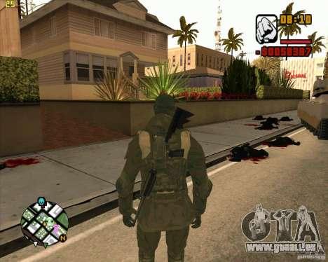 Ckin SAS pour GTA San Andreas deuxième écran