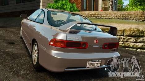 Honda Integra Type-R pour GTA 4 Vue arrière de la gauche