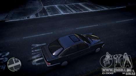 Mercedes w210 1998 (E280) pour GTA 4 est un droit