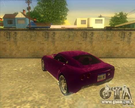 Melling Hellcat für GTA San Andreas rechten Ansicht