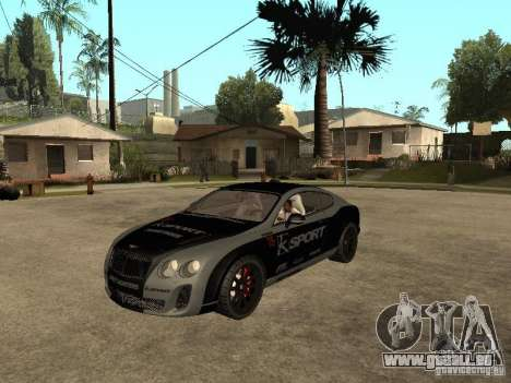 Bentley Continental SS Skin 4 für GTA San Andreas