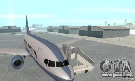 Airport Vehicle pour GTA San Andreas troisième écran