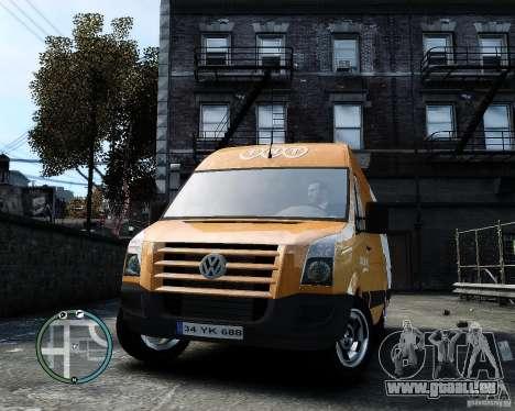 Volkswagen Crafter TNT für GTA 4 Rückansicht