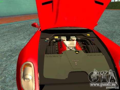 Ferrari 599 GTB pour GTA San Andreas vue de côté