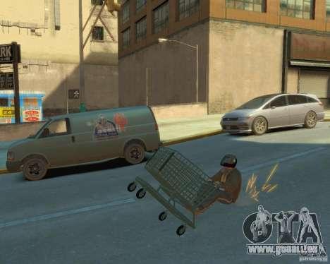 Chariot pour GTA 4 Vue arrière