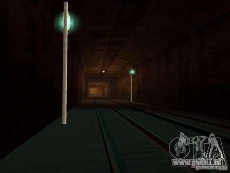 Feux de signalisation ferroviaire pour GTA San Andreas deuxième écran