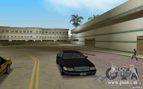 Ford Crown Victoria für GTA Vice City Rückansicht