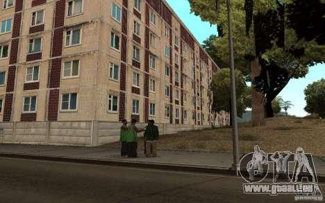 Une petite ville russe sur la rue Grove pour GTA San Andreas troisième écran