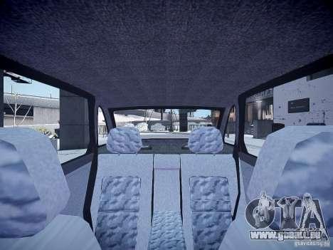 LADA 21103 v2.0 pour GTA 4 est une vue de l'intérieur