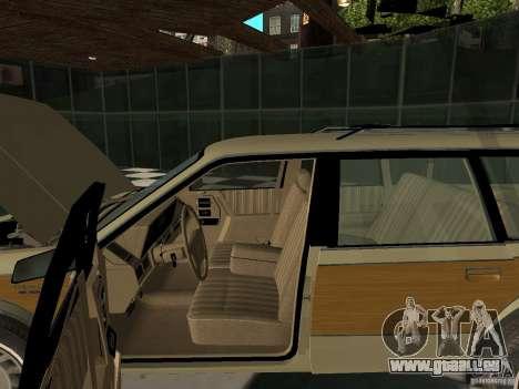 Oldsmobile Cutlass Cruiser 1993 für GTA San Andreas Rückansicht