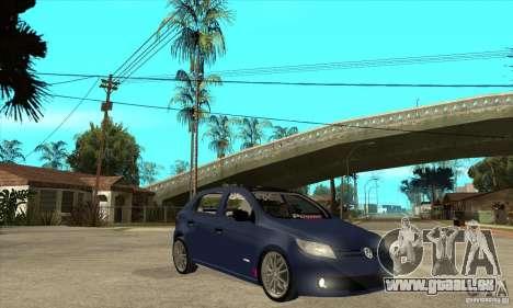 Volkswagen Gol Trend 1.6 für GTA San Andreas Rückansicht
