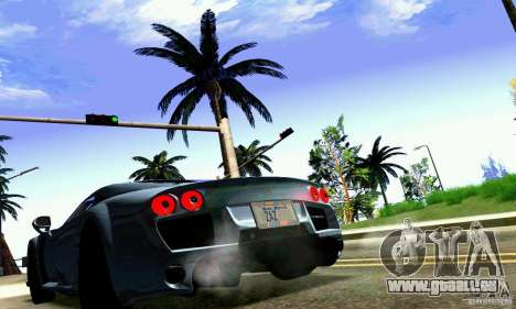Noble M600 für GTA San Andreas Innen