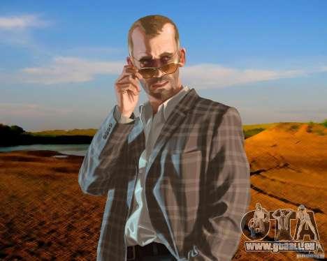 Écran de démarrage de la Russie en Amérique pour GTA 4 quatrième écran