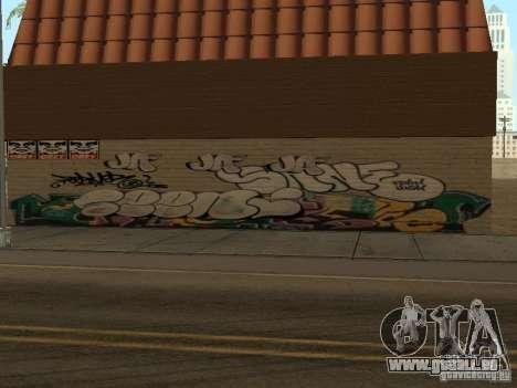 Los Santos City graffiti légendes v1 pour GTA San Andreas deuxième écran