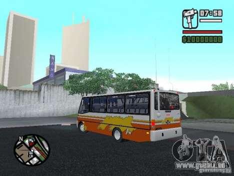 Ciferal Agilis M.Benz LO-814 BY GTABUSCL pour GTA San Andreas laissé vue