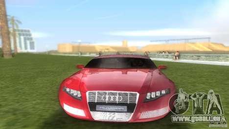 Audi Nuvolari Quattro pour une vue GTA Vice City de l'intérieur