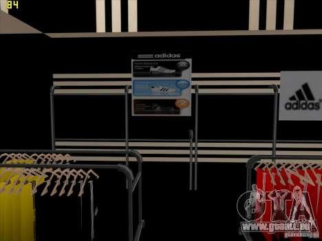 Remplacement complet du magasin Binco Adidas pour GTA San Andreas huitième écran