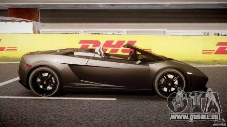 Lamborghini Gallardo LP560-4 Spyder 2009 pour GTA 4 est une vue de l'intérieur