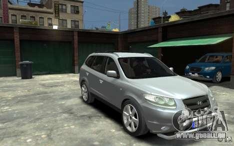 Hyundai Santa Fe für GTA 4 Rückansicht