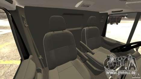 Ford Transit NY Airport Service [ELS] pour GTA 4 est une vue de l'intérieur