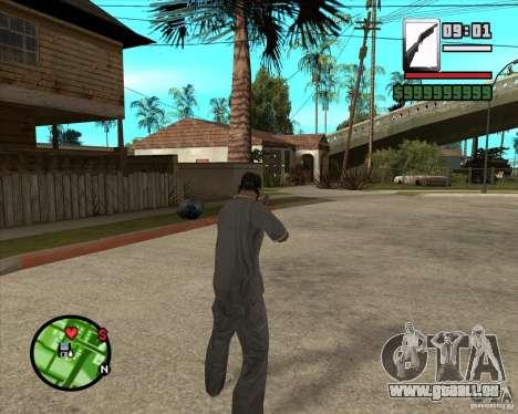 Chromegun pour GTA San Andreas troisième écran