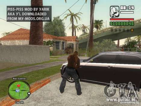 Piss Piss mod pour GTA San Andreas