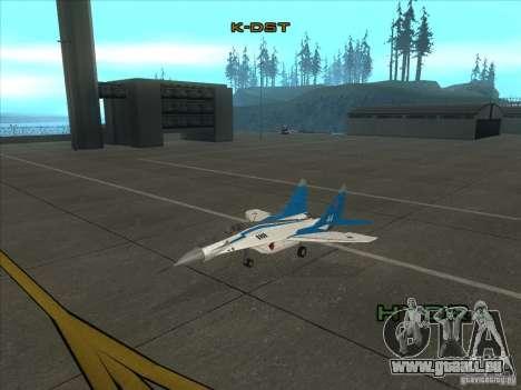 MiG-29 les martinets pour GTA San Andreas