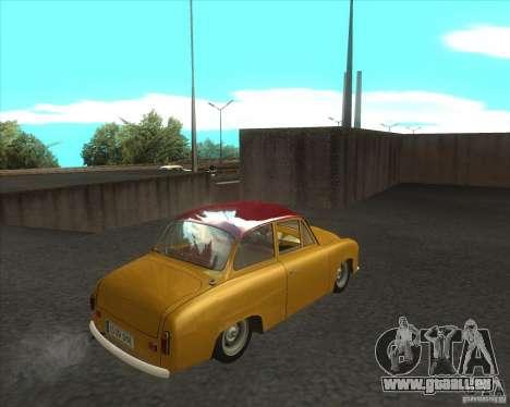 Syrena 104 für GTA San Andreas zurück linke Ansicht