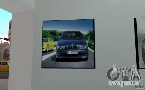 Concessionnaire BMW pour GTA San Andreas quatrième écran