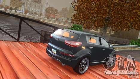Kia Sportage 2010 v1.0 pour GTA 4 est un côté
