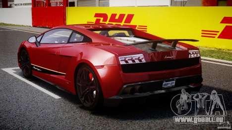 Lamborghini Gallardo LP570-4 Superleggera 2011 pour GTA 4 est un côté