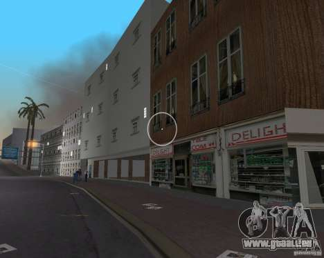 New Downtown: Shops and Buildings für GTA Vice City neunten Screenshot