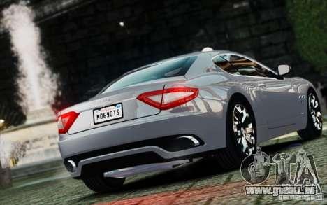 Maserati Gran Turismo S 2009 für GTA 4 linke Ansicht
