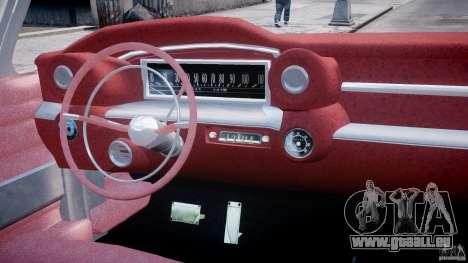 Cadillac Eldorado 1959 (Lowered) pour GTA 4 est un droit