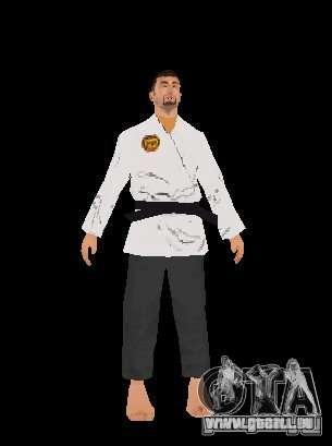 Reteksturirovannye karate für GTA San Andreas