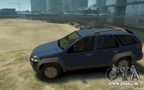 Fiat Palio Adventure Locker pour GTA 4 est une gauche
