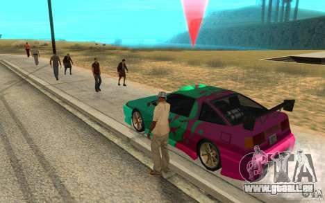Le masque des diapositives pour GTA San Andreas