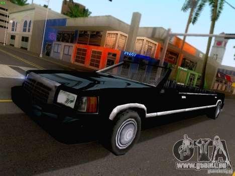 Stretch Cabrio für GTA San Andreas Rückansicht