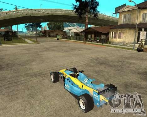 Renault F1 für GTA San Andreas linke Ansicht