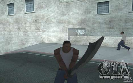 Épée pour GTA San Andreas deuxième écran