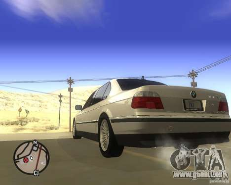 BMW 750il Limuzin für GTA San Andreas linke Ansicht