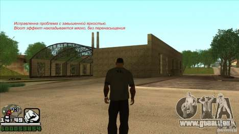 Real ENB Settings v3.0 The End version pour GTA San Andreas sixième écran