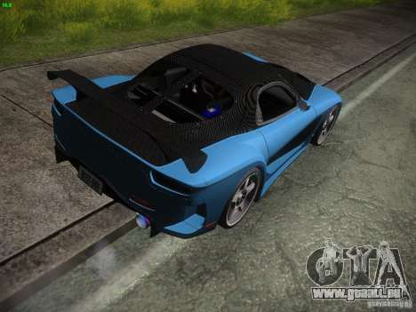 Mazda RX 7 Veil Side pour GTA San Andreas vue de droite