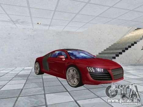 Audi Le Mans Quattro pour GTA San Andreas laissé vue