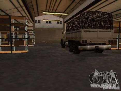 Die wiederbelebten Militärbasis in Docks v3. 0 für GTA San Andreas dritten Screenshot