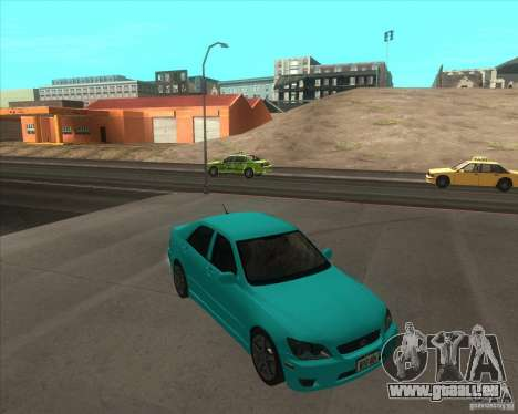 Lexus IS300 tuning für GTA San Andreas